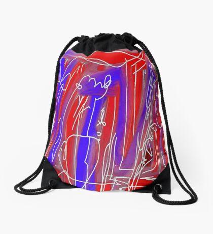 Graffiti Bridge Drawstring Bag