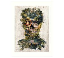 The Gatekeeper Dark Surrealism Art Art Print
