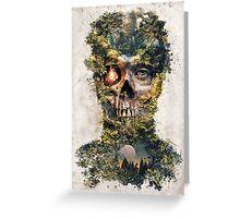 The Gatekeeper Dark Surrealism Art Greeting Card