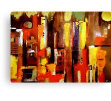 """Cityscape"" Canvas Print"