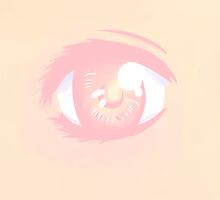 Peachy Eye! by Flowerlie