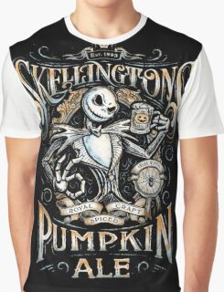 Skellingtons Pumpkin Royal Craft Ale Graphic T-Shirt