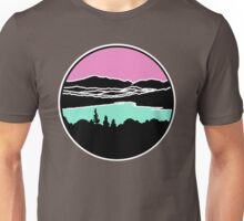 Lafayette and Franconia Notch from Shadow Lake Unisex T-Shirt