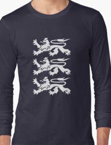 3 Heraldic Lions Long Sleeve T-Shirt