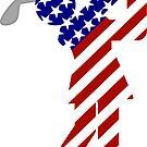 USA Womens Golf by Gravityx9