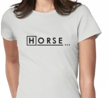 Bad Horse is Bad Womens Fitted T-Shirt