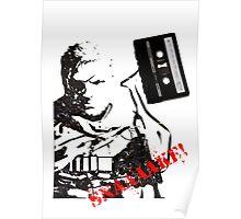 Snake - Metal Gear Solid V cassette art Poster