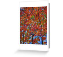 052 Abstract Thought Greeting Card