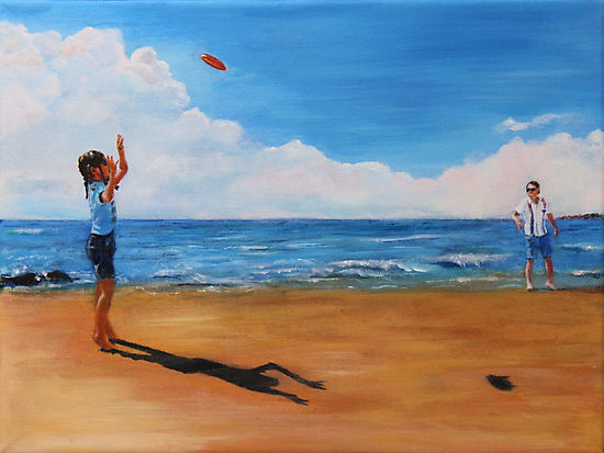 On The Beach by Mike Paget