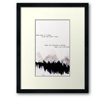 I'll show you Framed Print