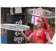 Two wheeled transvestite. Poster