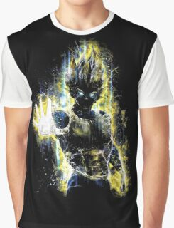 Epic Prince of Fighters Portrait Graphic T-Shirt