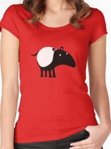 Tapir Women's Fitted Scoop T-Shirt