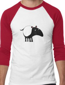 Tapir Men's Baseball ¾ T-Shirt