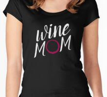 Wine Mom Women's Fitted Scoop T-Shirt