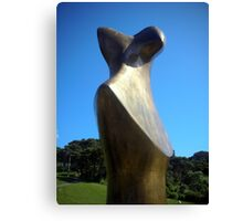 Henry Moore Sculpture Canvas Print