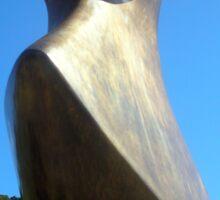 Henry Moore Sculpture Sticker
