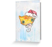 """""""Oro?"""" Santa Greeting Card"""