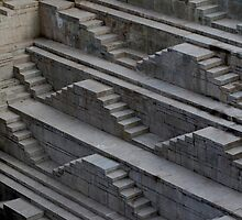 Stepped well. by Stephen Brown
