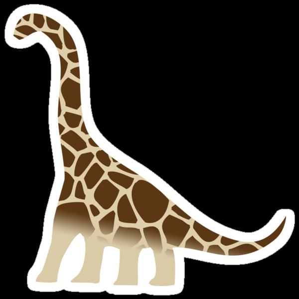 Brachiosaurus Giraffe by jezkemp