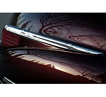 Black Cherry Abstract Photographic Print