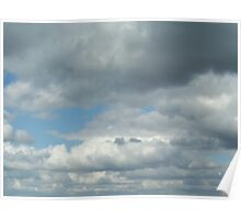 Cloud3frameD -R- photo Poster