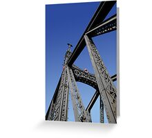 Bridge over the Danube @ Budapest Greeting Card