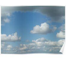 Cloud3frameD -C- photo Poster