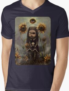 Death sighs Mens V-Neck T-Shirt