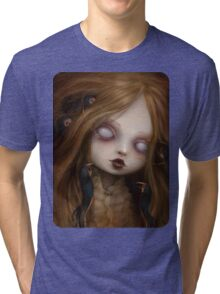 The face of all your fears Tri-blend T-Shirt