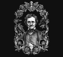 Edgar Allan Poe Shirt by Brigid Ashwood