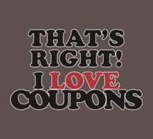 That's Right! I Love Coupons Kids Clothes