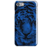 Be Wild (Blue) iPhone Case/Skin