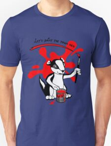 Let's paint the town red T-Shirt