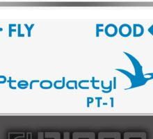 Pterodactyl Delay Pedal Sticker