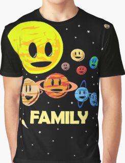 Solar System Family Graphic T-Shirt