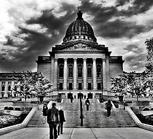 Visiting The State Capitol by EBArt