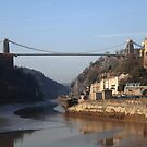 Clifton Suspension Bridge, Avon Gorge by Mark Baldwyn