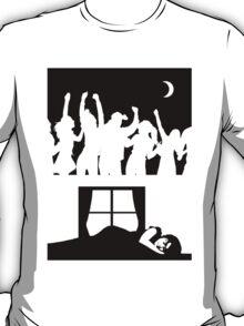 Party All Night - Sleep All Day - Teeshirt T-Shirt