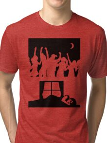 Party All Night - Sleep All Day - Teeshirt Tri-blend T-Shirt