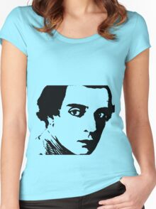 buster keaton . Women's Fitted Scoop T-Shirt
