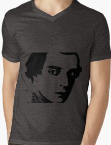 buster keaton . Mens V-Neck T-Shirt