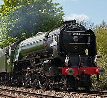 LNER Peppercorn Class A1 60163 Tornado by Steve  Liptrot