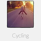 Cycling - iPhoneography by Marcin Retecki