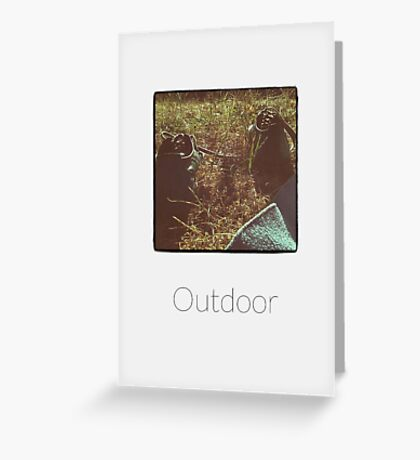 Outdoor - iPhoneography Greeting Card