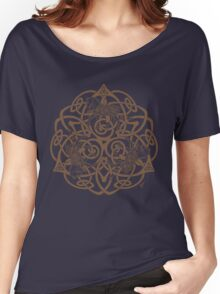 Celtic Horse Knotwork Women's Relaxed Fit T-Shirt