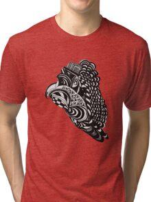 Aztec Doodle  Tri-blend T-Shirt