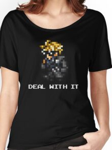 Deal With It - FFRK Cloud (FFVII) Women's Relaxed Fit T-Shirt
