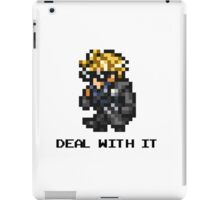 Deal With It - FFRK Cloud (FFVII) iPad Case/Skin