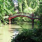 Crim Dell Bridge IV by Jennie L. Richards